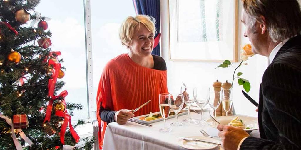 Festive Christmas - Couple onboard