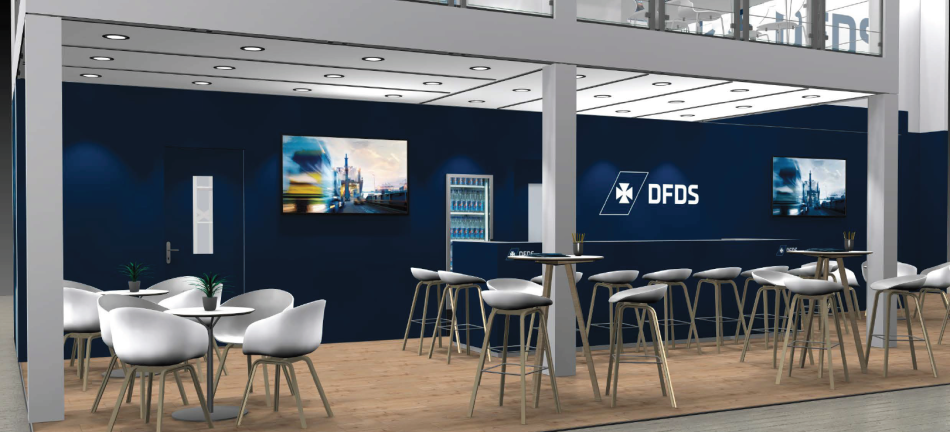 DFDS stand at the Transport & Logistics fair 2019 in Munich
