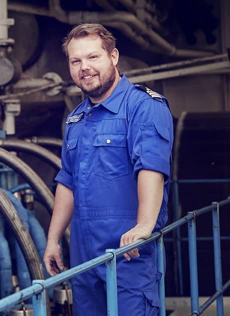 DFDS Engine room Gothenburg