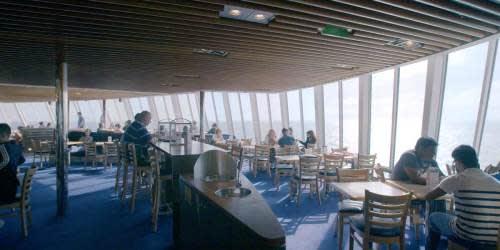 7 Seas restaurant onboard Dover-France