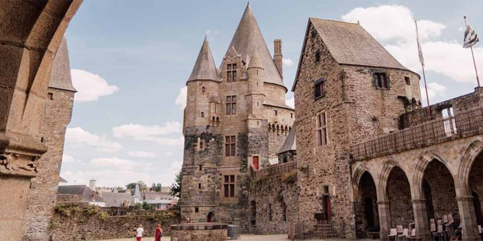 Castle in Brittany