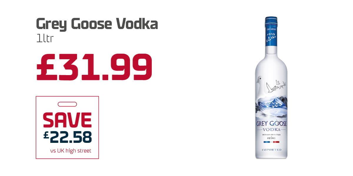 EC Duty free Q3 - Grey Goose Vodka