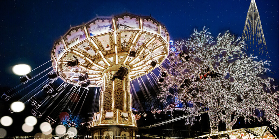 Christmas market in Gothenburg