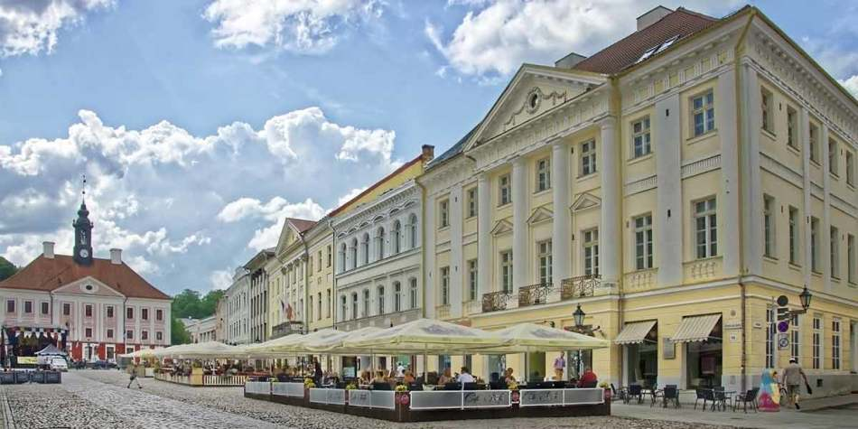Tartu in the sun