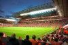 Liverpool Anfield Stadium during match