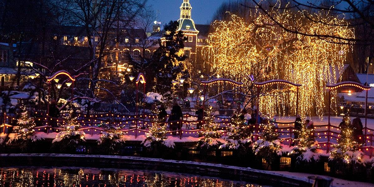 Christmas in Tivoli, Copenhagen - Photo Credit: Kim Wyon