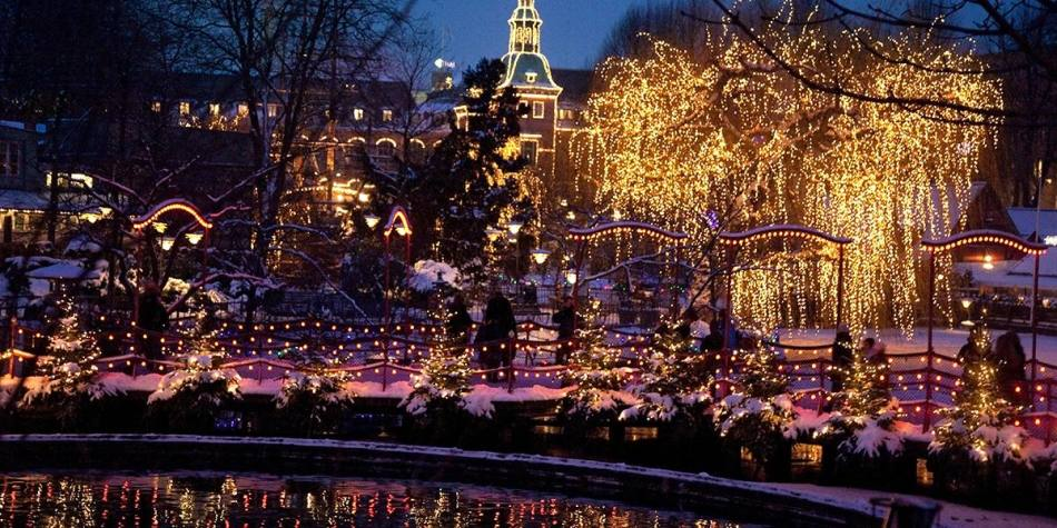 Christmas in Tivoli, Copenhagen - Photo Credit: Kim Wyon
