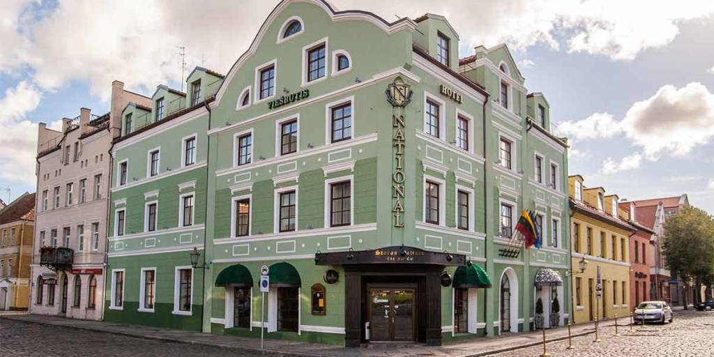 National Hotel Exterior