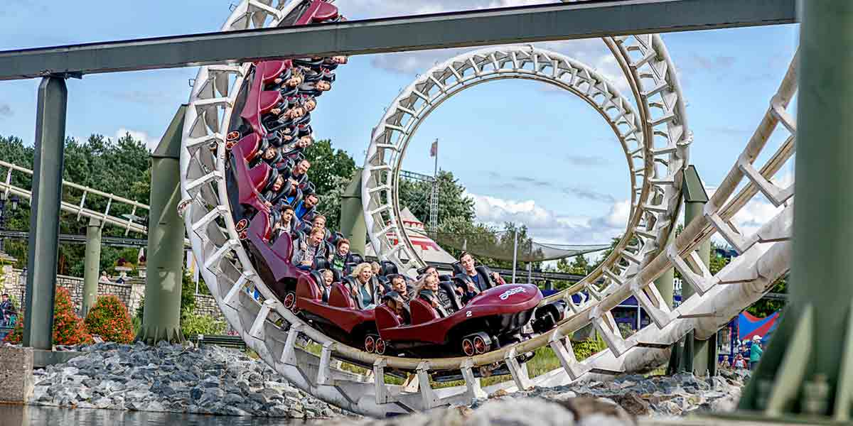 5 day Germany tour - Heide Park