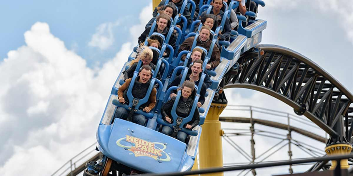 4 day Germany tour - Heide Park 2