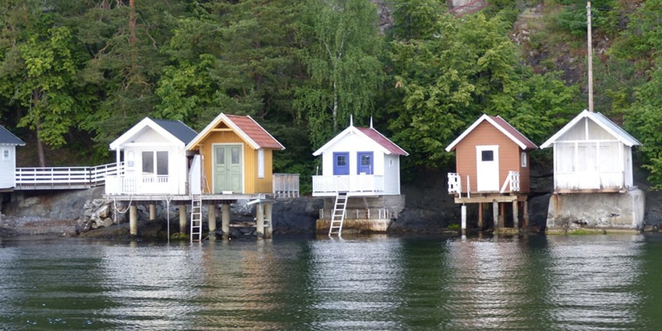Fjord mini houses in Oslo