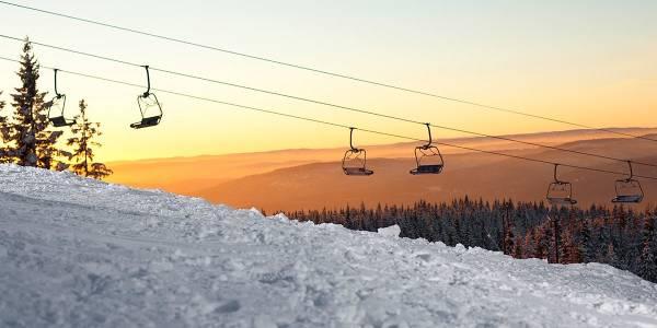 Oslo winter park - skilift