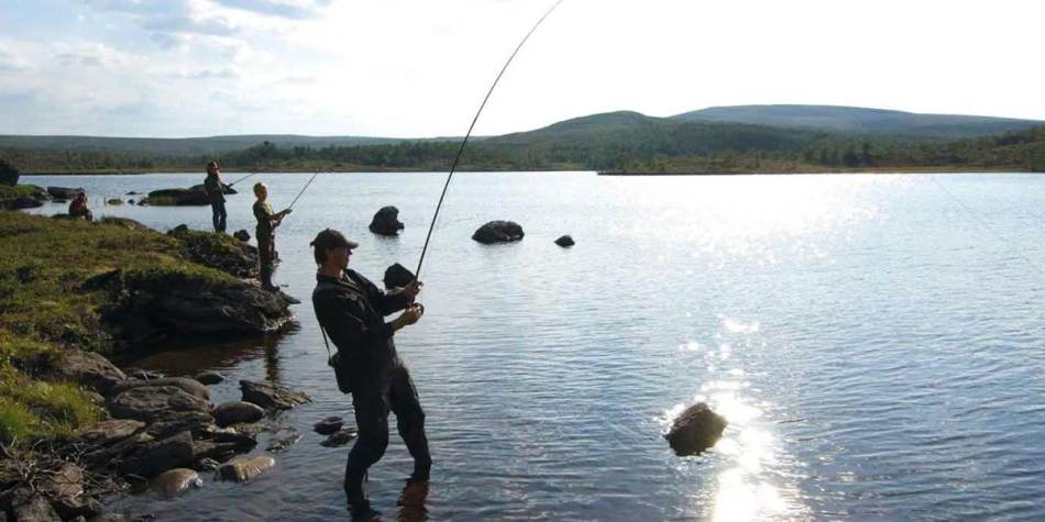 Fishing in Lillehammer
