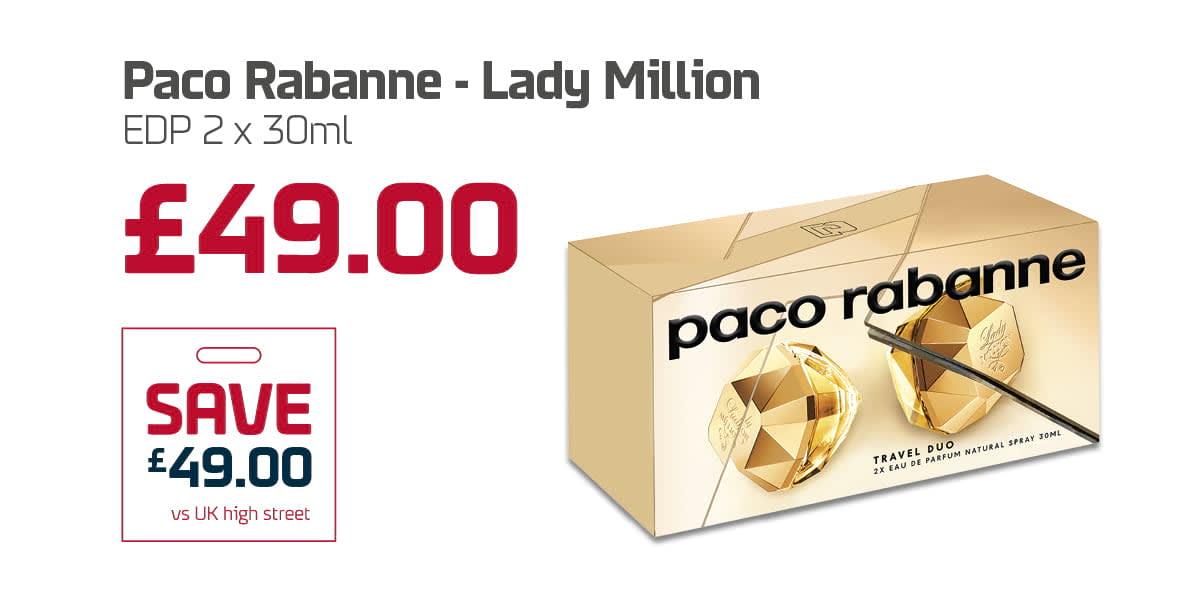 DINE Duty Free - Lady Million