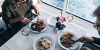 Food onboard DFDS ferry