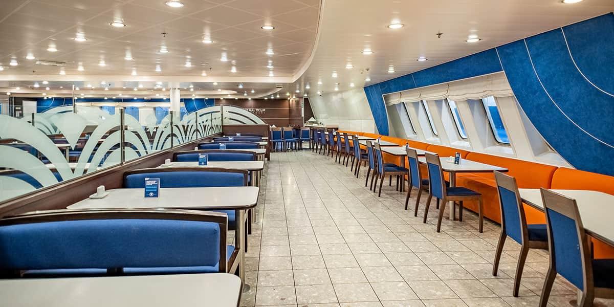 Self-service restaurant - Regina ferry