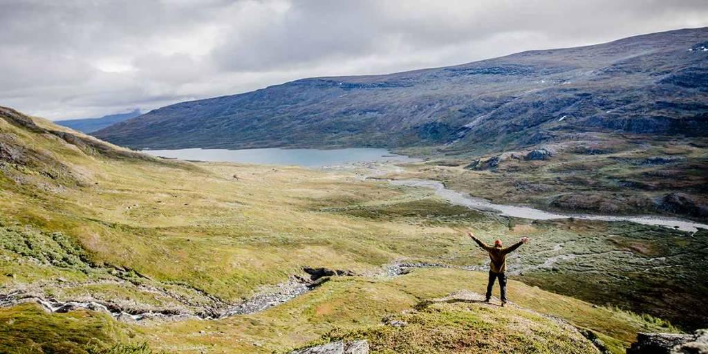 Camping in Sweden - Photo credit Carl Johan Utsi - hiking