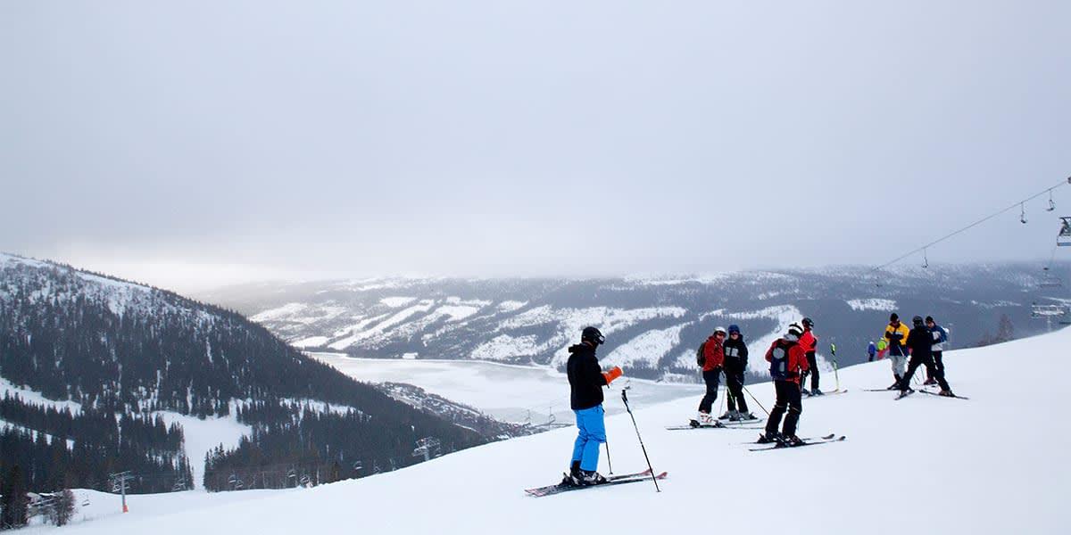 Skiing in Scandinavia, Sweden