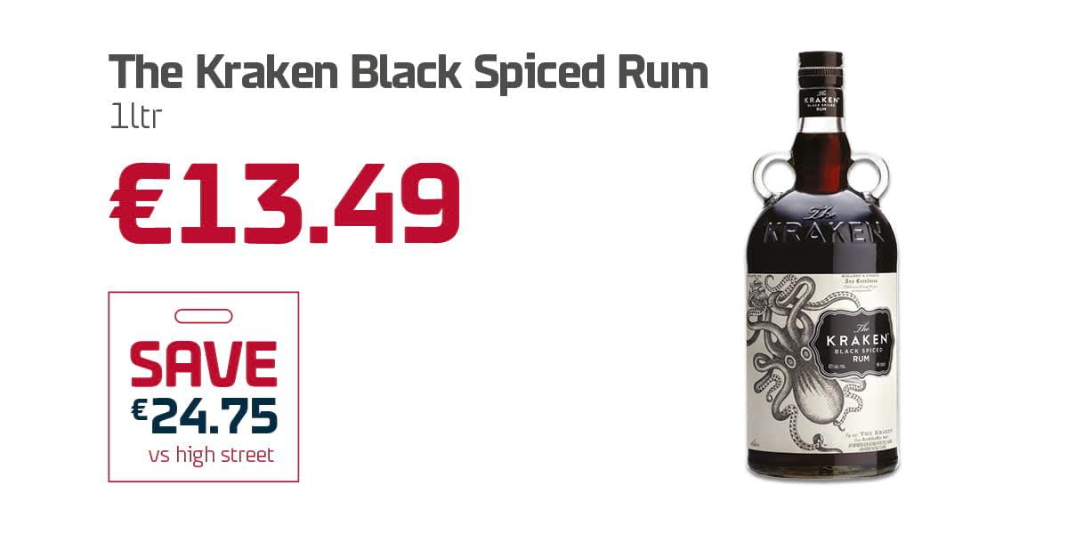AN Duty Free Q3 - The Kraken Black Spiced Rum