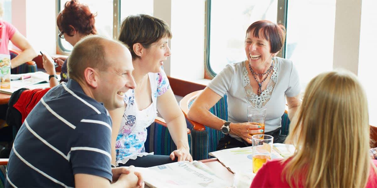 Restaurant onboard Dieppe-Newhaven
