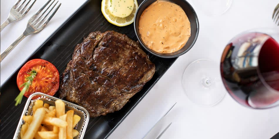 North Sea Bistro steak