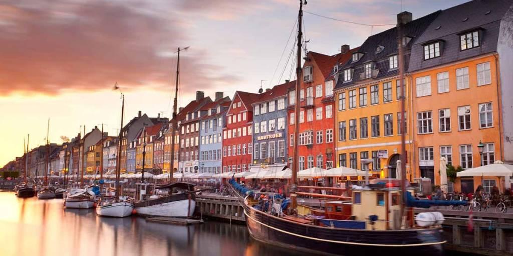 nyhavn waterfront in Copenhagen