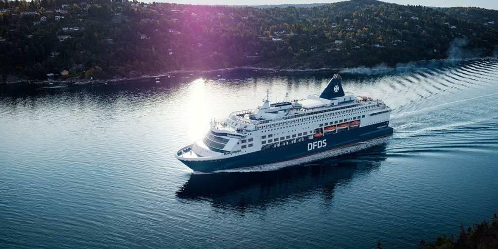 DFDS skib Pearl Seaways sommer
