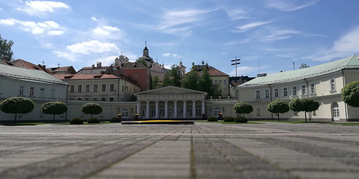The Presidential Palace, Vilnius, Lithuania