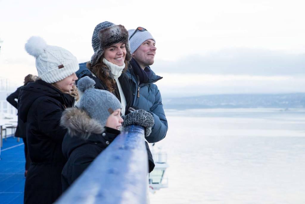 Skiferien til Noge starter på Oslobåden