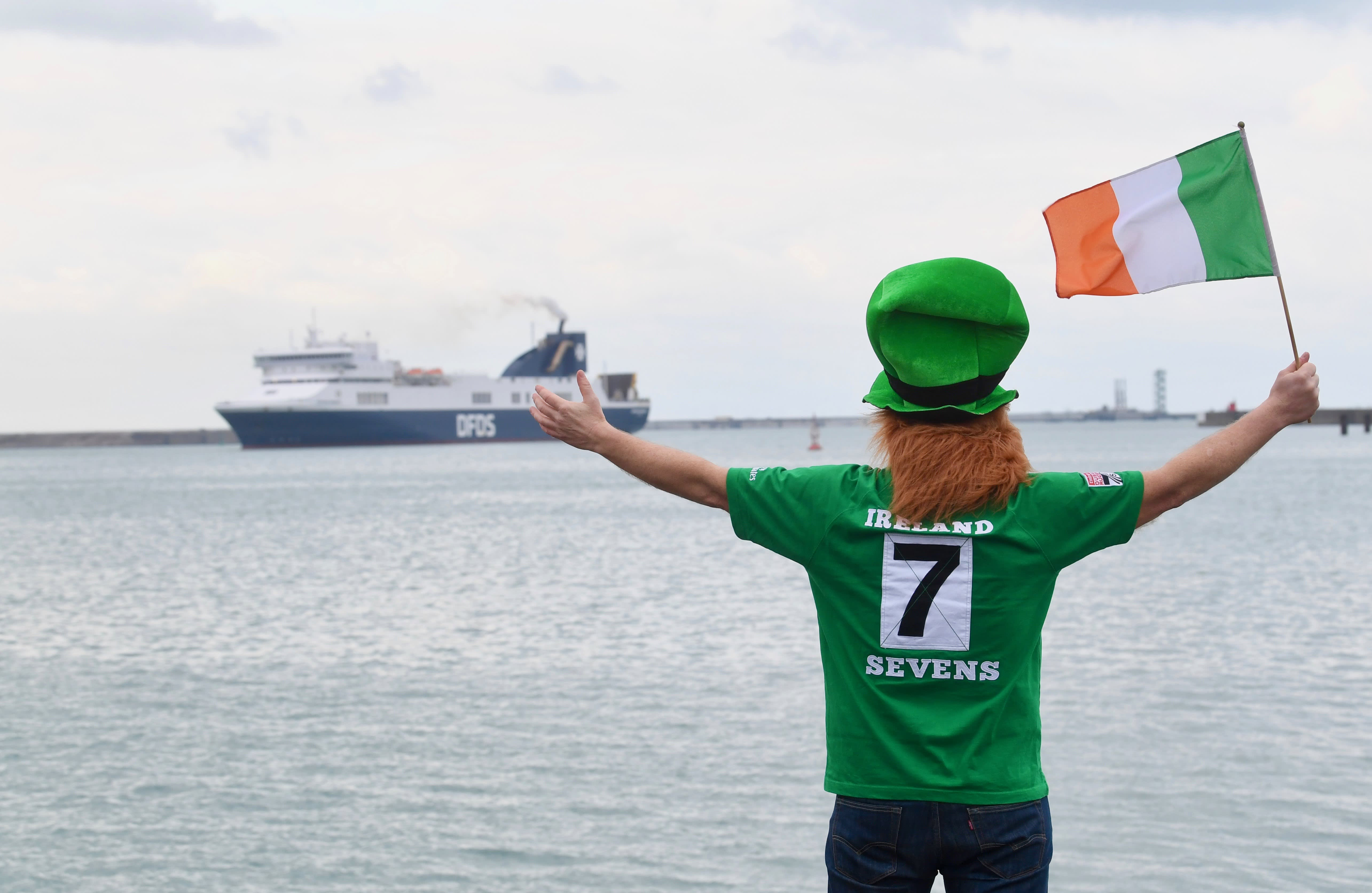 Rosslare welcoming DFDS