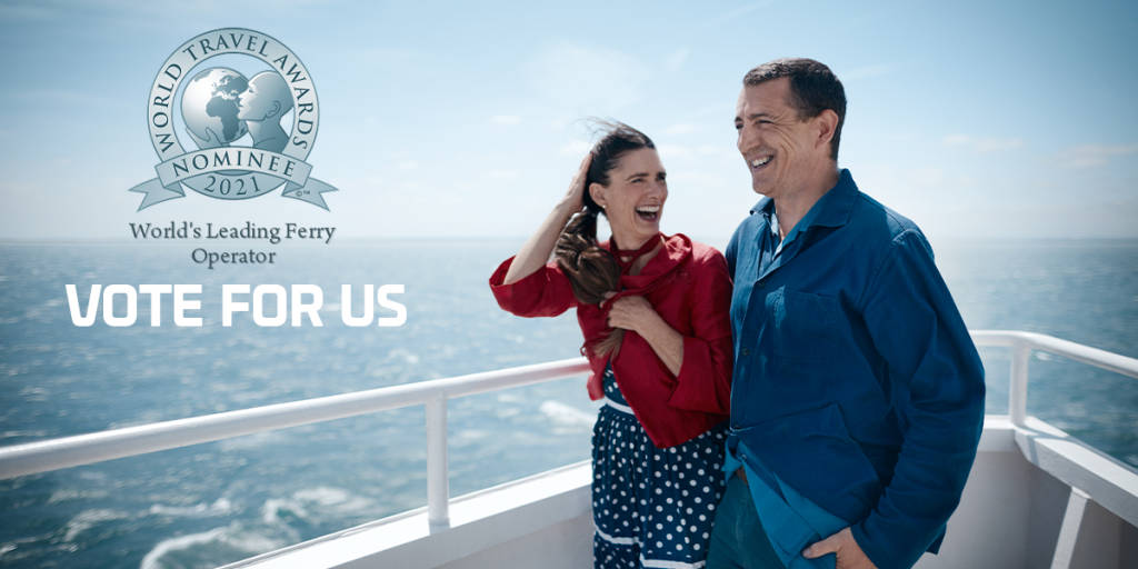 Vote for us - nominated asthe World's Leading Ferry Operator 2021