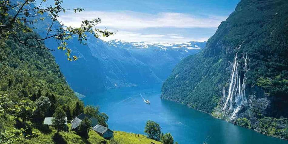 Beautiful Norway Fjords