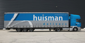 Dutch part-load operator Huisman Group truck