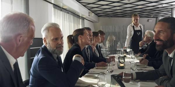 DFDS BusinessCruise - dinner in Sjø