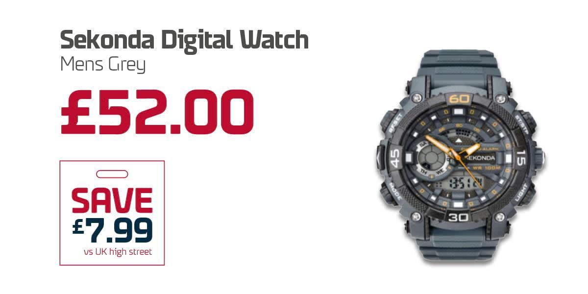 EC Duty Free Q3 - Sekonda Digital Watch