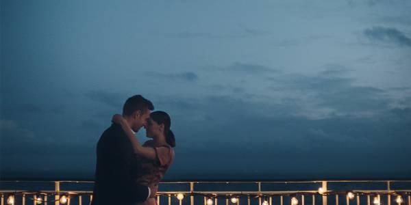 Couple on deck - romance