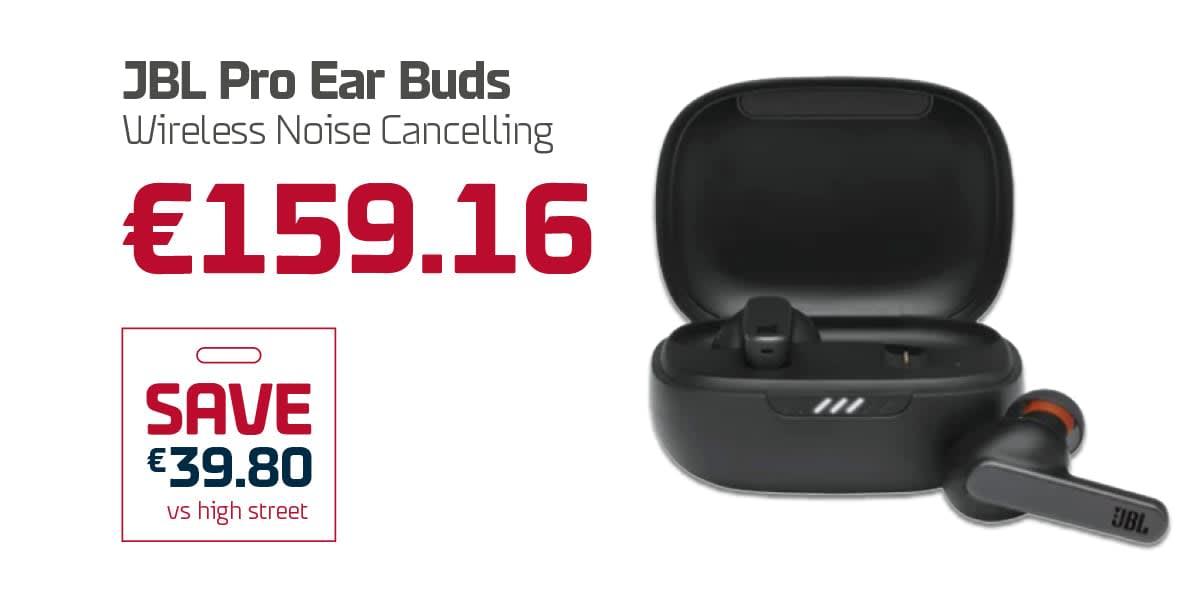 Duty Free AN Q3 - JBL Pro Ear Bugs