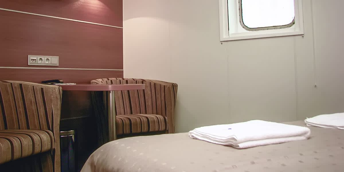 Commodore cabin - Liverpool ferry