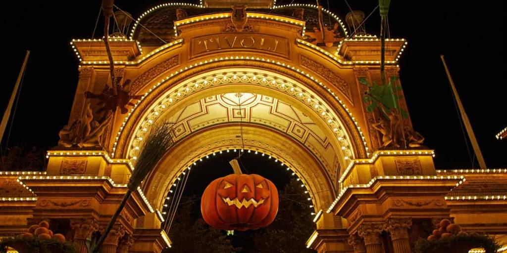 Halloween in Tivoli - entrance