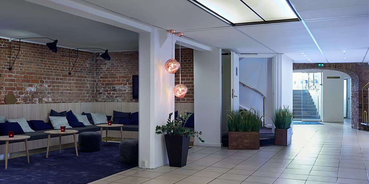 Copenhagen Strand hotel - Lobby