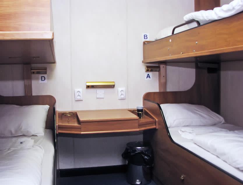 Standard Inside Cabin Klaipeda-Karlshamn