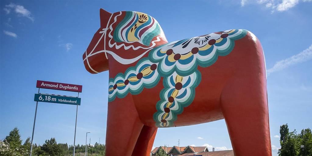 Dala horse, Sweden