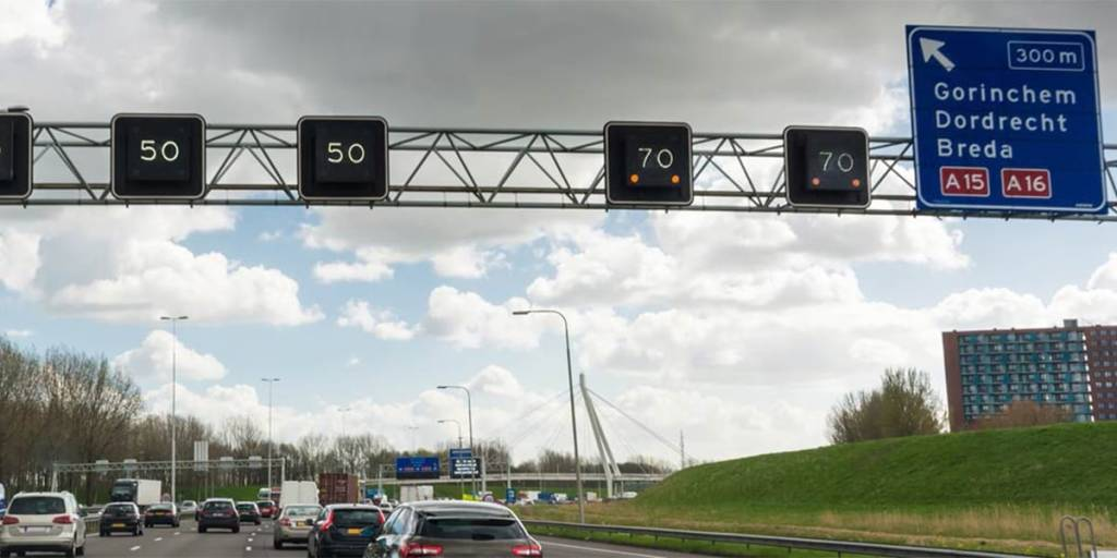 Motorcycling in Holland - speed limit signs