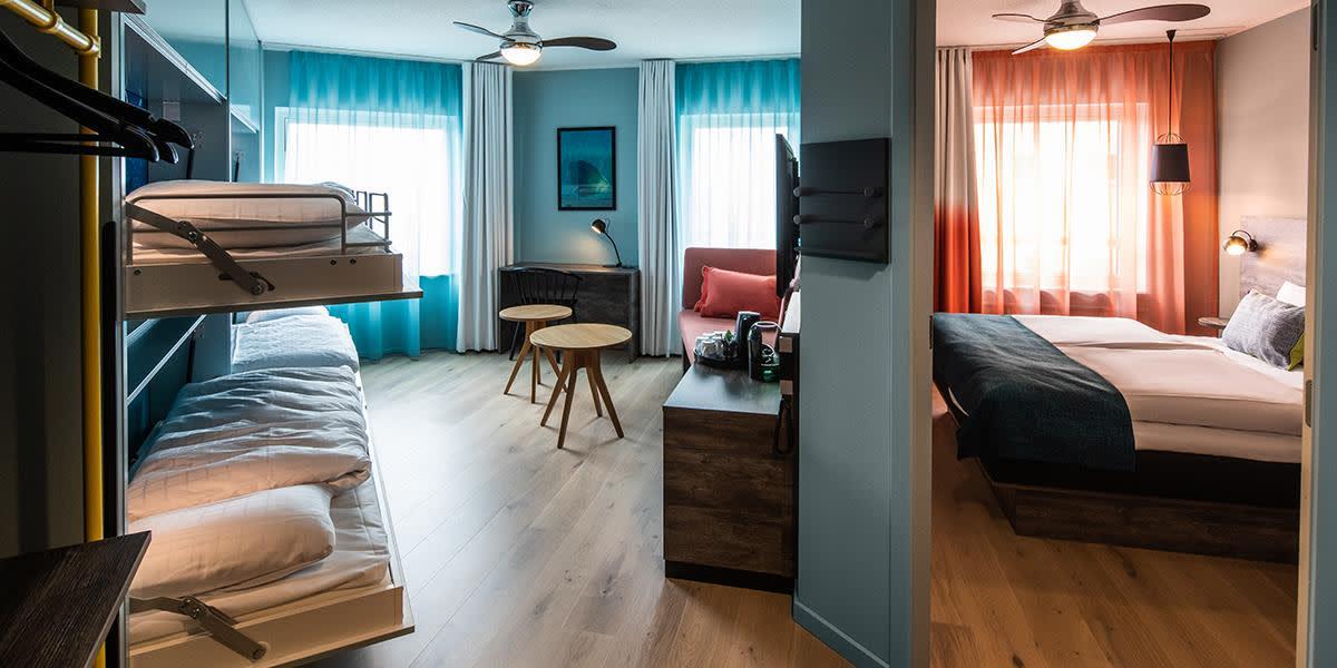 Scandic Reef junior suite