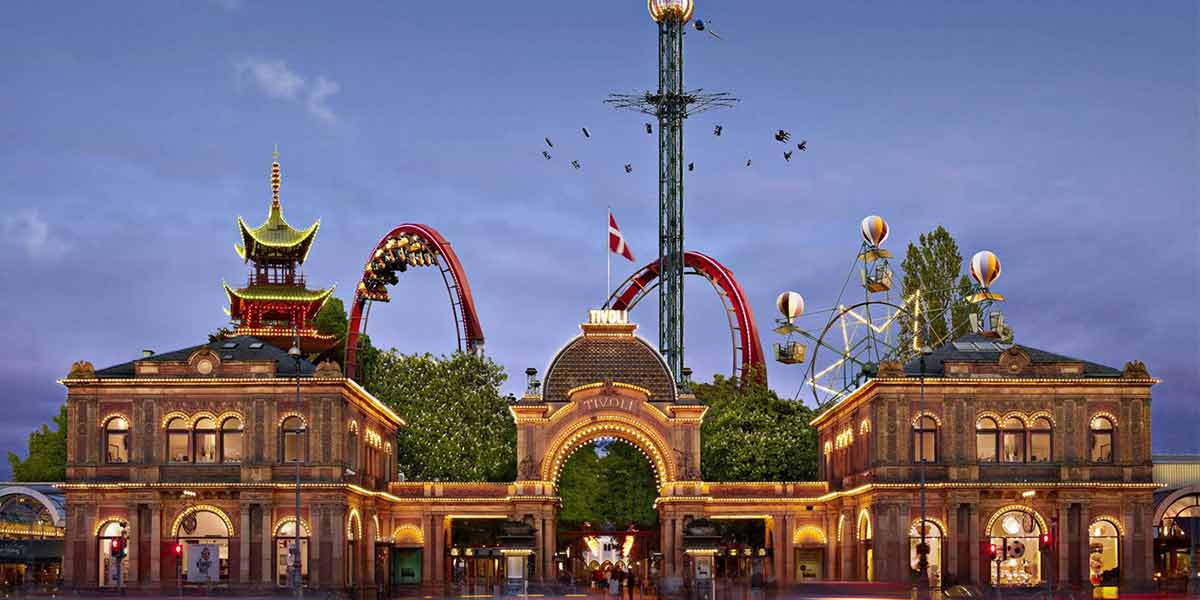 Family attractions - Tivoli park