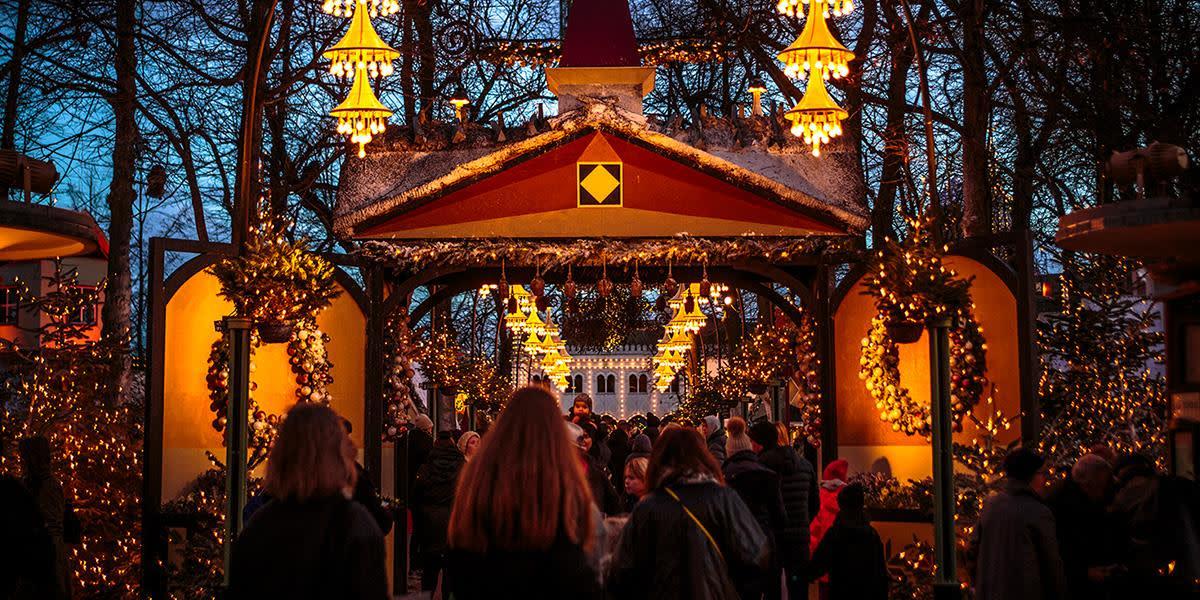 Jul i Tivoli, København - Photo Credit: Anders Bogild
