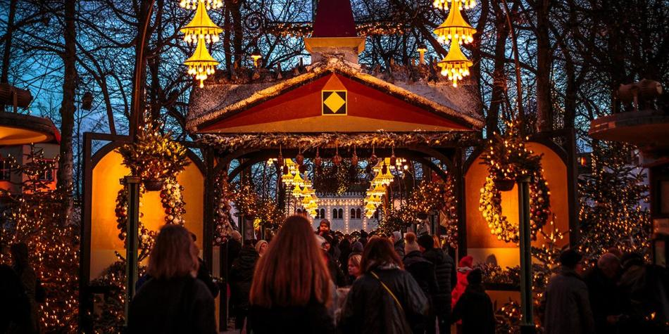 Christmas in Tivoli, Copenhagen - Photo Credit: Anders Bogild