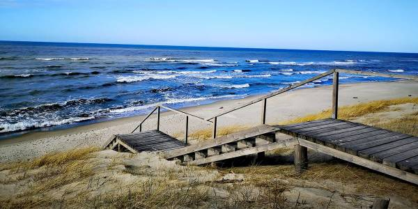 Beach in Lithuania