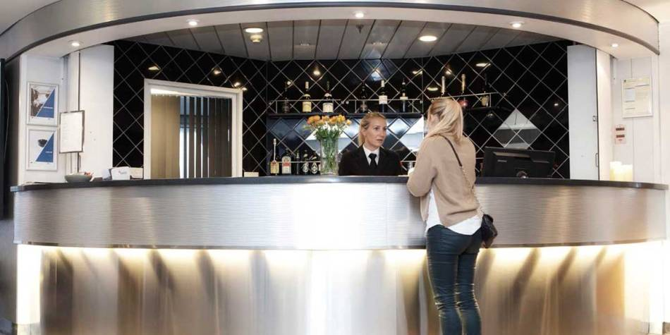Great customer service when you book your conference or meeting with DFDS