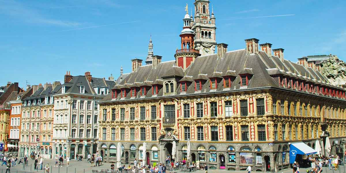 Vieille Bourse in Lille, France